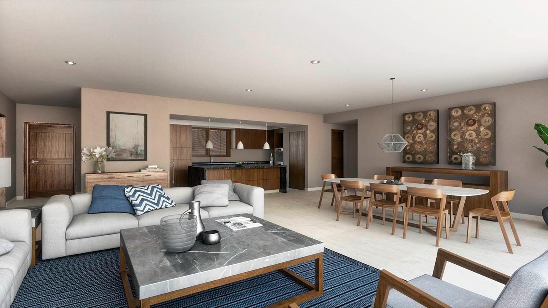 TAU Residences Livingroom